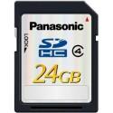Location Carte SDHC classe 4 Panasonic 24GB