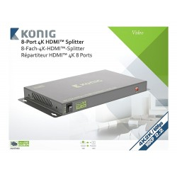 Location Splitter HDMI Professionnel 8 ports Konig