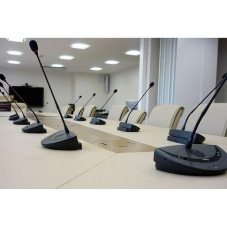 Location, système de conférence col de cygne sans fil, 15 personnes, 13011-13012-13400-13360-plan de Cuques-st cyr-Bandol