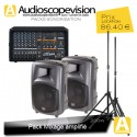 Location Pack 1er prix + table 200W Rms 400W Music