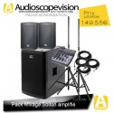 Location Pack son 1500W Rms 3000W Music + Table de mix