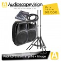 Location Pack LD 500W Rms 1000W Music + Mixage