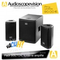 Location Pack Solton 900W AART-SAT Active Digital PA