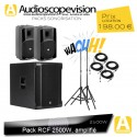 Location Pack RCF 2500W