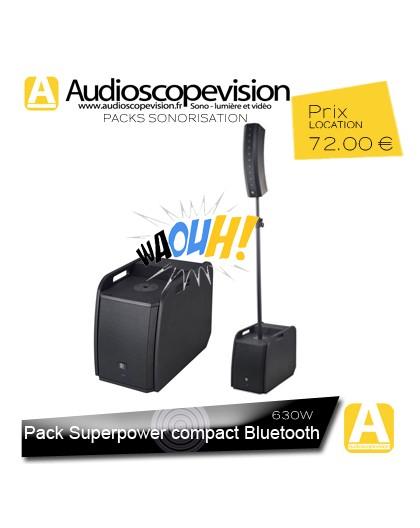 Location Pack sono 630W RMS colonne design type line array Bluetooth aubagne Cassis la ciotat Gémenos Auriol Bandol
