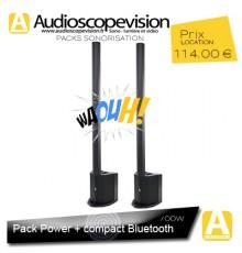 Location Pack sono 350W RMS colonne design Bluetooth Aubagne