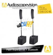 Location Pack sono 630W RMS colonne design type line array Bluetooth aubagne Cassis la ciotat Gémenos Auriol Bandol