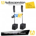 Location Pack sono 1260W RMS colonne design type line array Bluetooth Aubagne