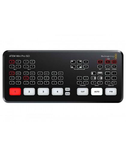 Louer Blackmagic Design ATEM Mini Pro ISO régie de mixage vidéo mélangeur vidéo mélangeur switcher vidéo Marseille Aubagne la Ci